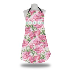 Watercolor Peonies Apron (Personalized)