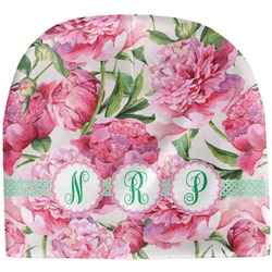 Watercolor Peonies Baby Hat (Beanie) (Personalized)