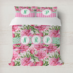 Watercolor Peonies Duvet Covers (Personalized)