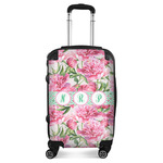 Watercolor Peonies Suitcase (Personalized)