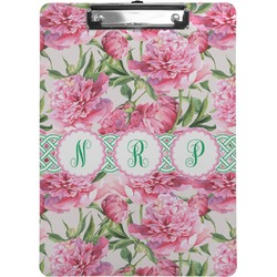 Watercolor Peonies Clipboard (Personalized)
