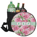 Watercolor Peonies Collapsible Cooler & Seat (Personalized)