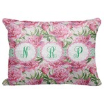 "Watercolor Peonies Decorative Baby Pillowcase - 16""x12"" (Personalized)"