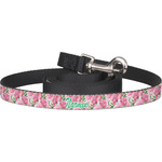 Watercolor Peonies Dog Leash (Personalized)