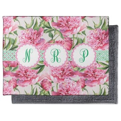 Watercolor Peonies Microfiber Screen Cleaner (Personalized)