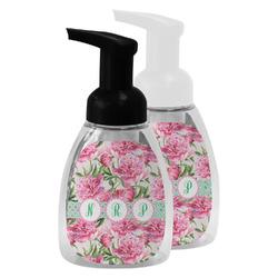 Watercolor Peonies Foam Soap Bottle (Personalized)
