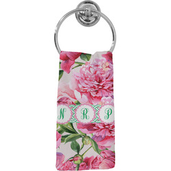 Watercolor Peonies Hand Towel - Full Print (Personalized)