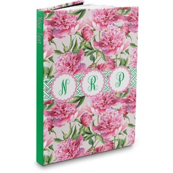 Watercolor Peonies Hardbound Journal (Personalized)
