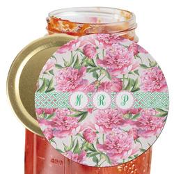 Watercolor Peonies Jar Opener (Personalized)