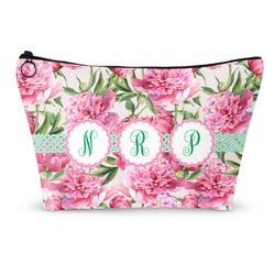 Watercolor Peonies Makeup Bags (Personalized)