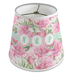 Watercolor Peonies Empire Lamp Shade (Personalized)