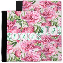 Watercolor Peonies Notebook Padfolio w/ Multiple Names