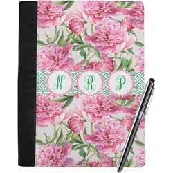 Watercolor Peonies Notebook Padfolio (Personalized)
