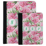 Watercolor Peonies Padfolio Clipboard (Personalized)
