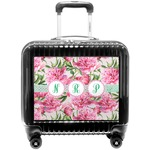 Watercolor Peonies Pilot / Flight Suitcase (Personalized)