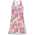 Watercolor Peonies Racerback Dress (Personalized)