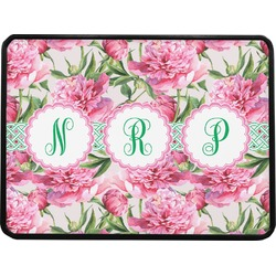 Watercolor Peonies Rectangular Trailer Hitch Cover (Personalized)