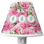 Watercolor Peonies Shade Night Light (Personalized)