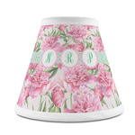 Watercolor Peonies Chandelier Lamp Shade (Personalized)