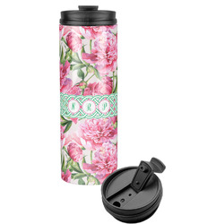 Watercolor Peonies Stainless Steel Tumbler (Personalized)