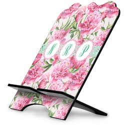 Watercolor Peonies Stylized Tablet Stand (Personalized)