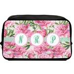 Watercolor Peonies Toiletry Bag / Dopp Kit (Personalized)