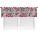 Watercolor Peonies Valance (Personalized)