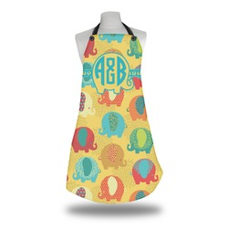 Cute Elephants Apron (Personalized)