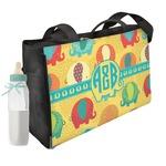 Cute Elephants Diaper Bag (Personalized)