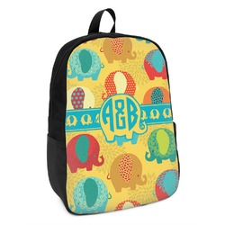 Cute Elephants Kids Backpack (Personalized)