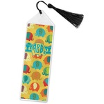 Cute Elephants Book Mark w/Tassel (Personalized)