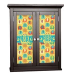 Cute Elephants Cabinet Decal - Custom Size (Personalized)