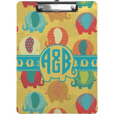 Cute Elephants Clipboard (Personalized)
