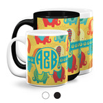 Cute Elephants Coffee Mugs (Personalized)