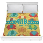 Cute Elephants Comforter (Personalized)