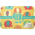 Cute Elephants Dish Drying Mat (Personalized)