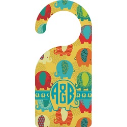Cute Elephants Door Hanger (Personalized)