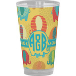 Cute Elephants Drinking / Pint Glass (Personalized)