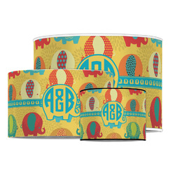 Cute Elephants Drum Lamp Shade (Personalized)