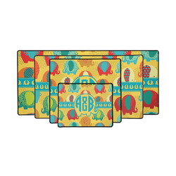 Cute Elephants Gaming Mouse Pad (Personalized)