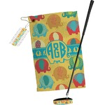 Cute Elephants Golf Towel Gift Set (Personalized)