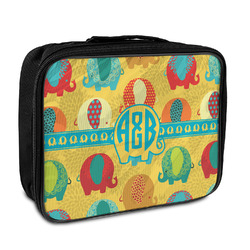 Cute Elephants Insulated Lunch Bag (Personalized)