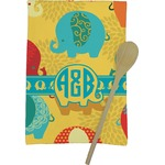 Cute Elephants Kitchen Towel - Full Print (Personalized)