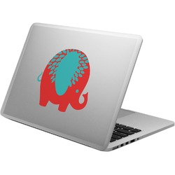 Cute Elephants Laptop Decal (Personalized)