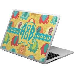 Cute Elephants Laptop Skin - Custom Sized (Personalized)