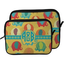 Cute Elephants Laptop Sleeve / Case (Personalized)