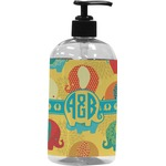 Cute Elephants Plastic Soap / Lotion Dispenser (Personalized)