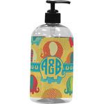 Cute Elephants Plastic Soap / Lotion Dispenser (Personalized)
