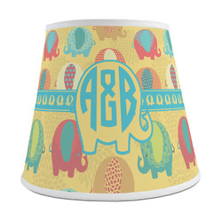 Cute Elephants Empire Lamp Shade (Personalized)