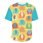 Cute Elephants Men's Crew T-Shirt (Personalized)